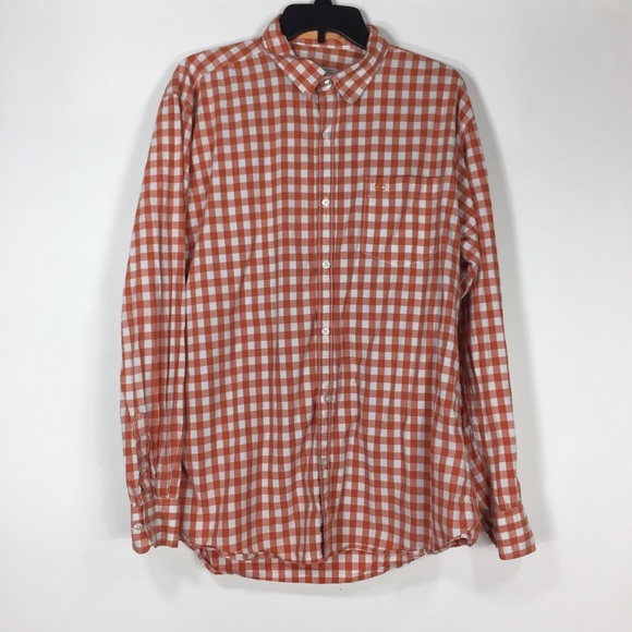 Timberland Other - Timberland Earthkeepers Gingham Button Up Slim Fit
